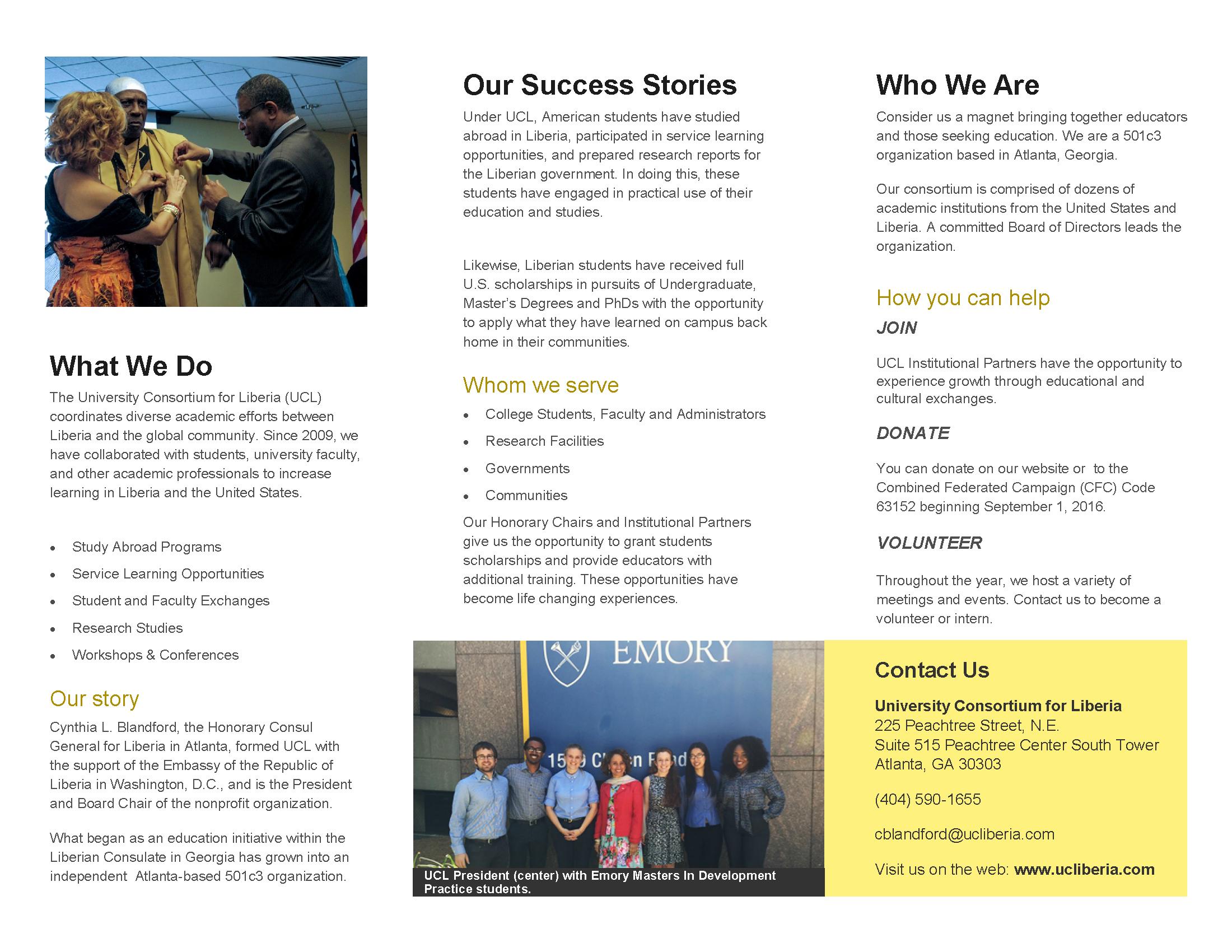 UCL Brochure Pg2