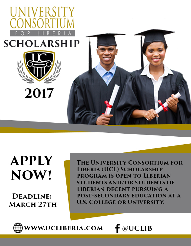 UCL 2017 SCHOLARSHIP FLYER