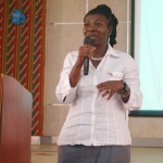 GICC President, Ms. Matilda Arhin presents on F1 Visas