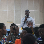 A participant expresses concerning about returning to Liberia after studies