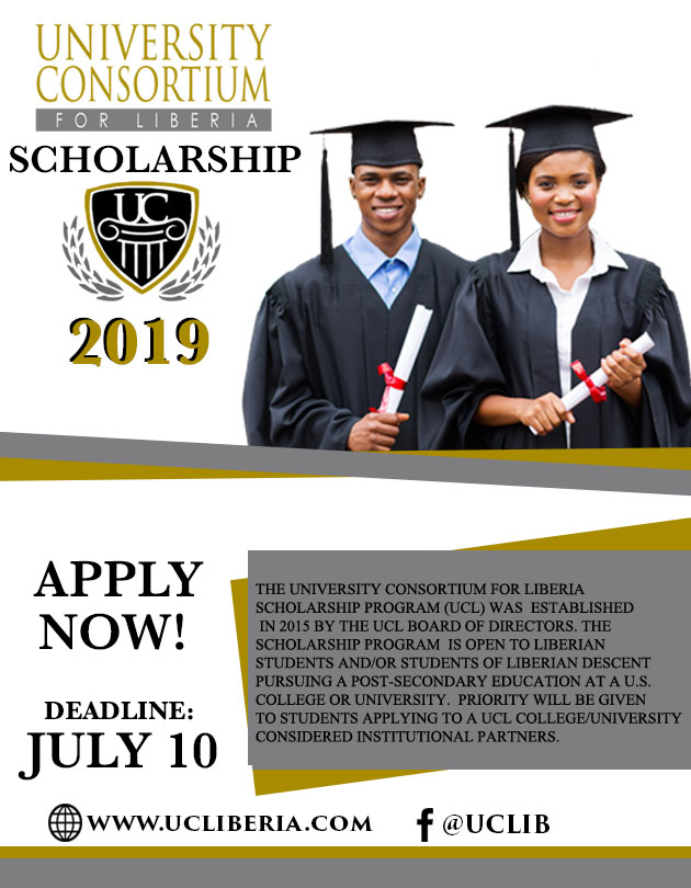 2019 UCL Scholarship
