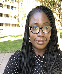 Assatu Wisseh is a doctoral fellow studying film and media studies at the University of California, Santa Barbara. UCL's generous funding enabled Assatu to conduct archival research at the Schomburg Center for Research in Black Culture in New York City.