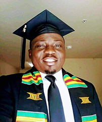 Randolph Glee graduated from Savannah State University with a Master's in Social Work in 2016. Became a faculty at the University of Liberia and AMEU from 2017-2019. He is currently attending SSU to pursue a second master's degree in Public Administration.
