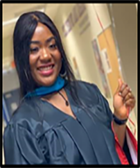 Roberthalyne Kollie received full scholarship from SSU, one of our Institutional Partners. She graduated from Savannah State University with a B.S. in Mass Communication and Journalism in 2017. Ms Kollie furthered her education and graduated from SSU with a Master's in Public Administration in 2019.