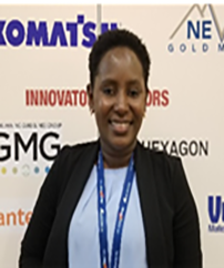 Safiatu Barrie is a candidate for master's degree in mining engineering from the South Dakota School of Mines.
